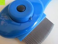 Knopf: Health Enterprises - Läusekamm mit integriertem Licht, Vergrößerungslupe und auswechselbaren Metallzinken - Ideal zur Bekämpfung von Läusen, Nissen, Flöhen und Kopfläusen