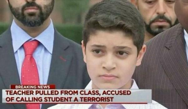 Siswa Muslim di Texas dituding Teroris oleh Gurunya ?!