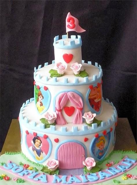 Imagenes de tortas decoradas tortas decoradas de princesas for Tortas decoradas faciles