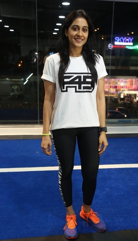 Regina Cassandra at Gym launch
