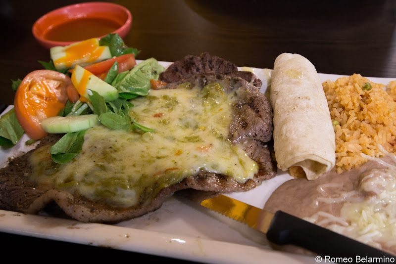 L&J Cafe Skirt Steak with Chile con Queso Guide to Restaurants in El Paso Texas