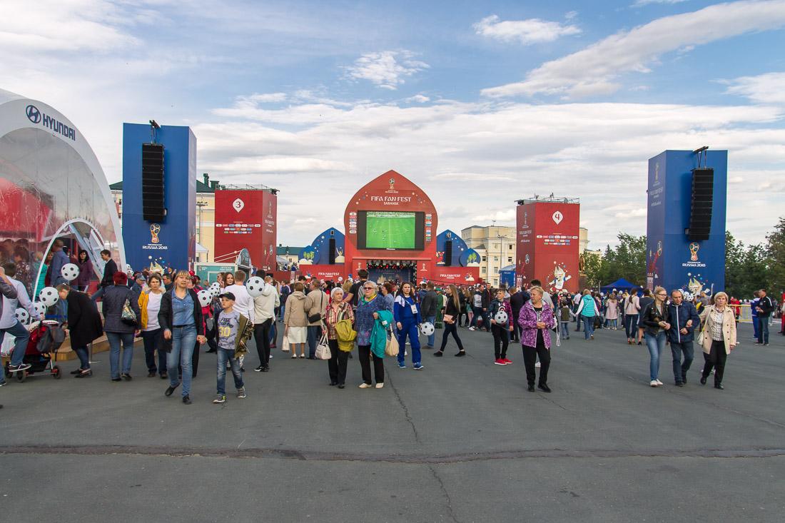 Фан-зона ФИФА в Саранске