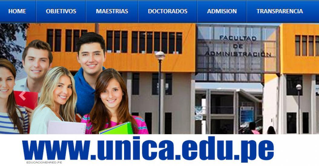 Lista de Ingresantes UNICA 2017-1 (Examen 16 Julio) RESULTADOS Admisión Universidad Nacional San Luis Gonzaga de Ica - www.unica.edu.pe