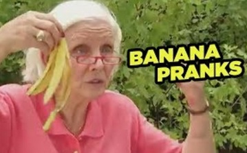 Funny Video | Not-So-Classic Slipping On BANANA Peels Pranks