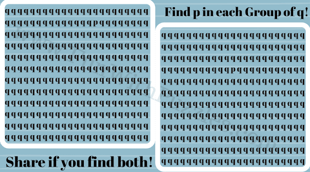Can You Find Hidden 'p' Picture Puzzle