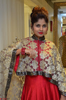 Anya South Actress model in Red Anarkali Dress at Splurge   Divalicious curtain raiser ~ Exclusive Celebrities Galleries 027.JPG