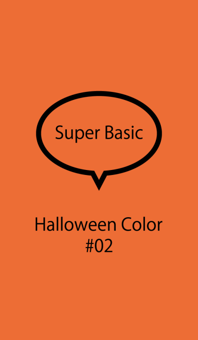 Super Basic Halloween Color #02