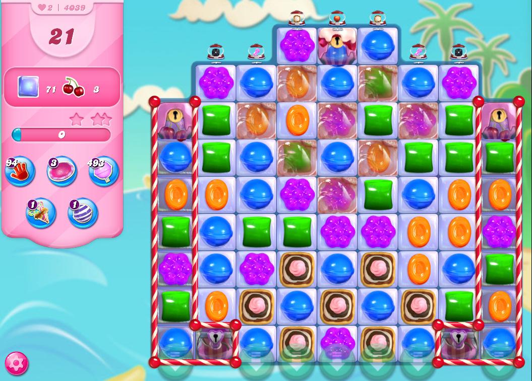 Candy Crush Saga level 4039