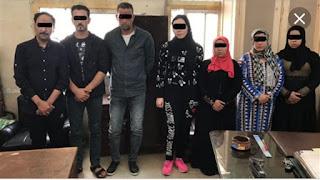 """القبض علي شبكة دعارة الساعه ب٥٠٠جنية يديرها عاطل وزوجته """"اضغط للتفاصيل"""""""