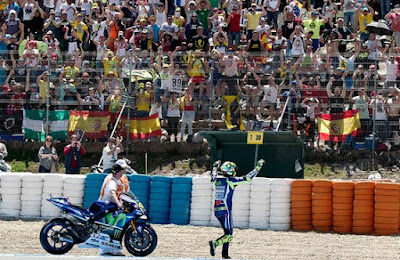 Setelah Menang di Jerez, Rossi Kini Berbalik Puji Michelin