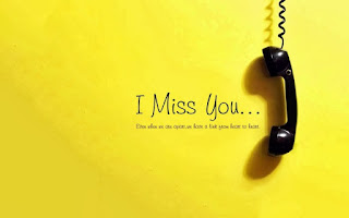 i miss you img with telephone reciever