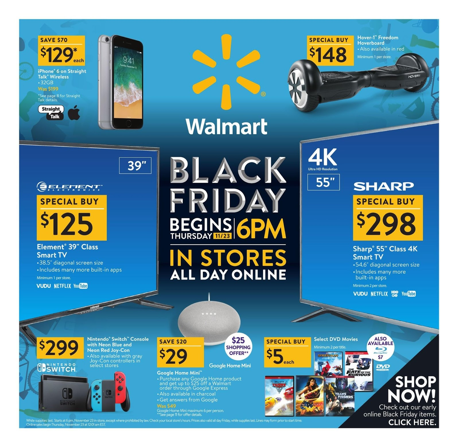 Black Friday 2017 Walmart Ad Store Hours Released