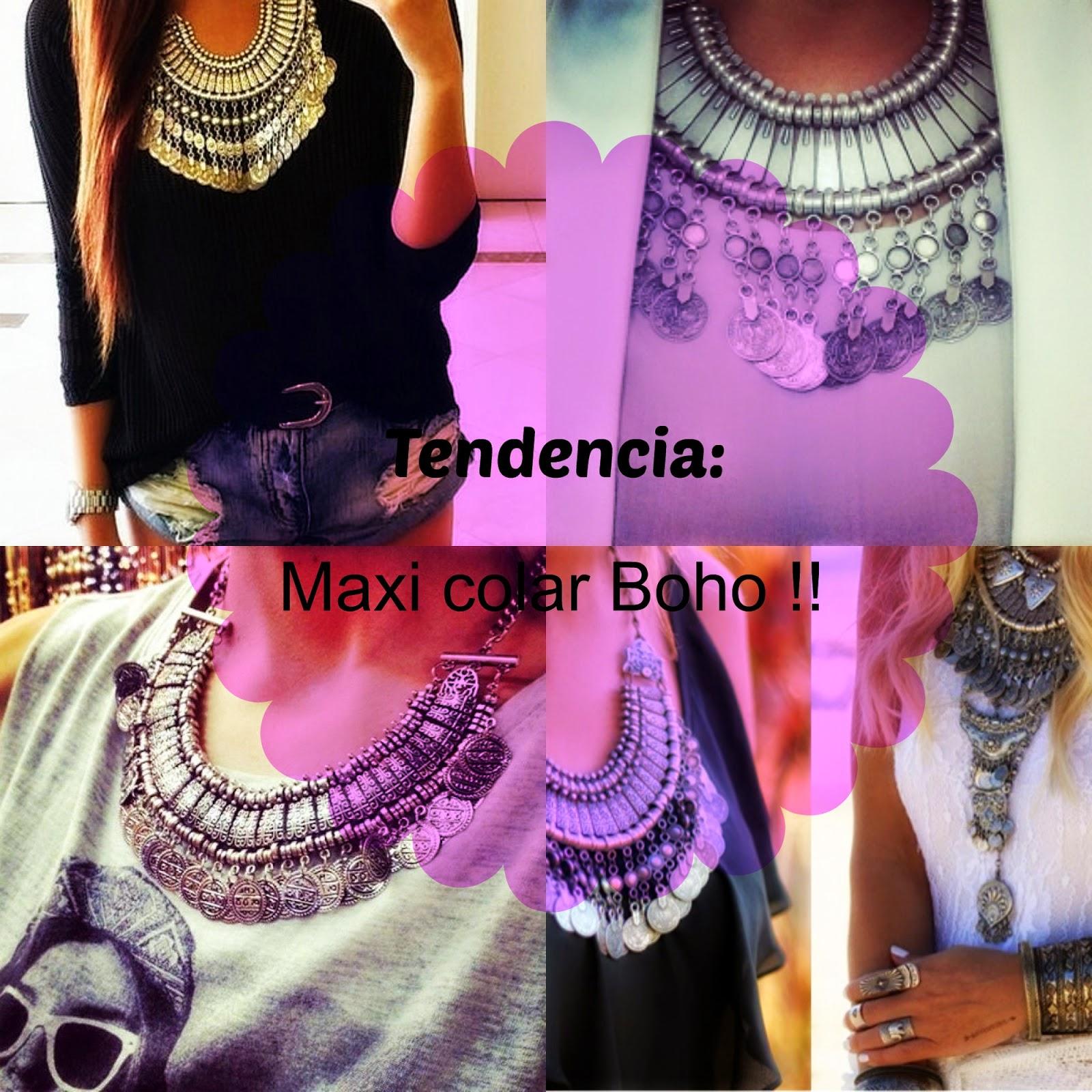 32df183aa Mundo das fashion: Tendencia: Maxi Colar boho !!