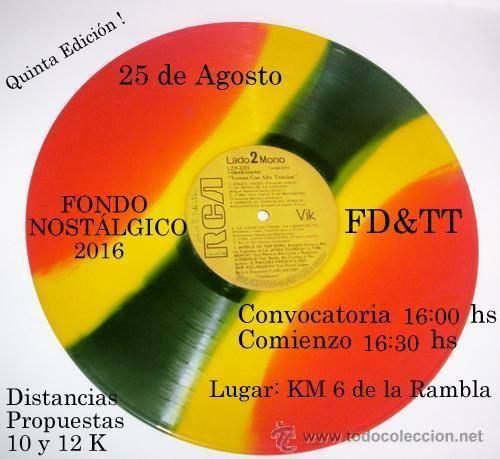 Fondo nostálgico en rambla de Montevideo (km 6, 25/ago/2016)