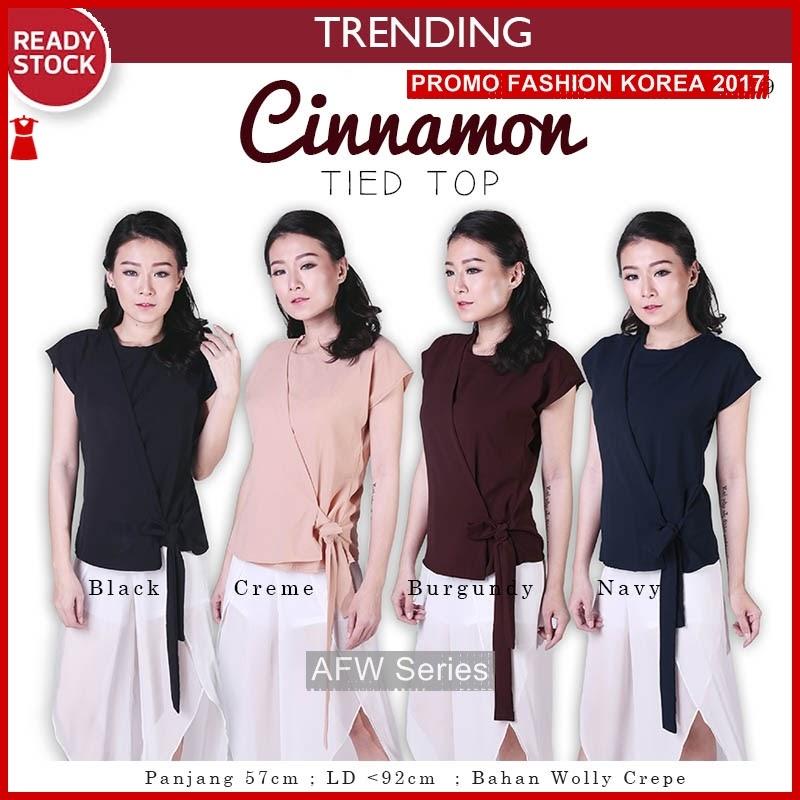 BAMFGW093 Cinnamon Top Blouse Wanita PROMO BMG