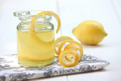 Lemon peel for health care