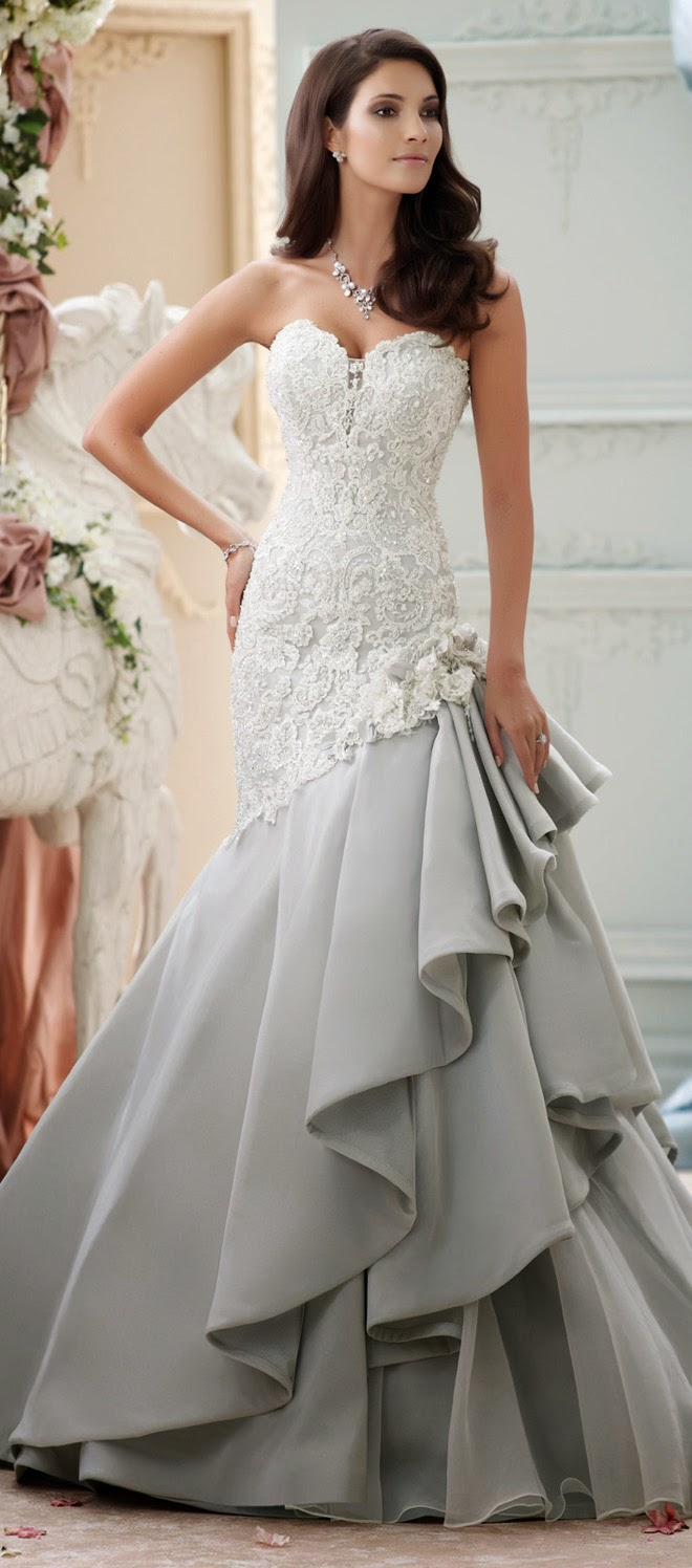David Tutera for Mon Cheri Spring 2015 Bridal Collection - Belle The ...