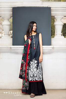 Khaadi-summer-lawn-prints-embroidered-shirt-2017-collection-2