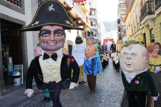 El Ayuntamiento de Santa Cruz de La Palma organiza una conferencia y una exposición sobre los mascarones y personajes de la fiesta de la Bajada de la Virgen