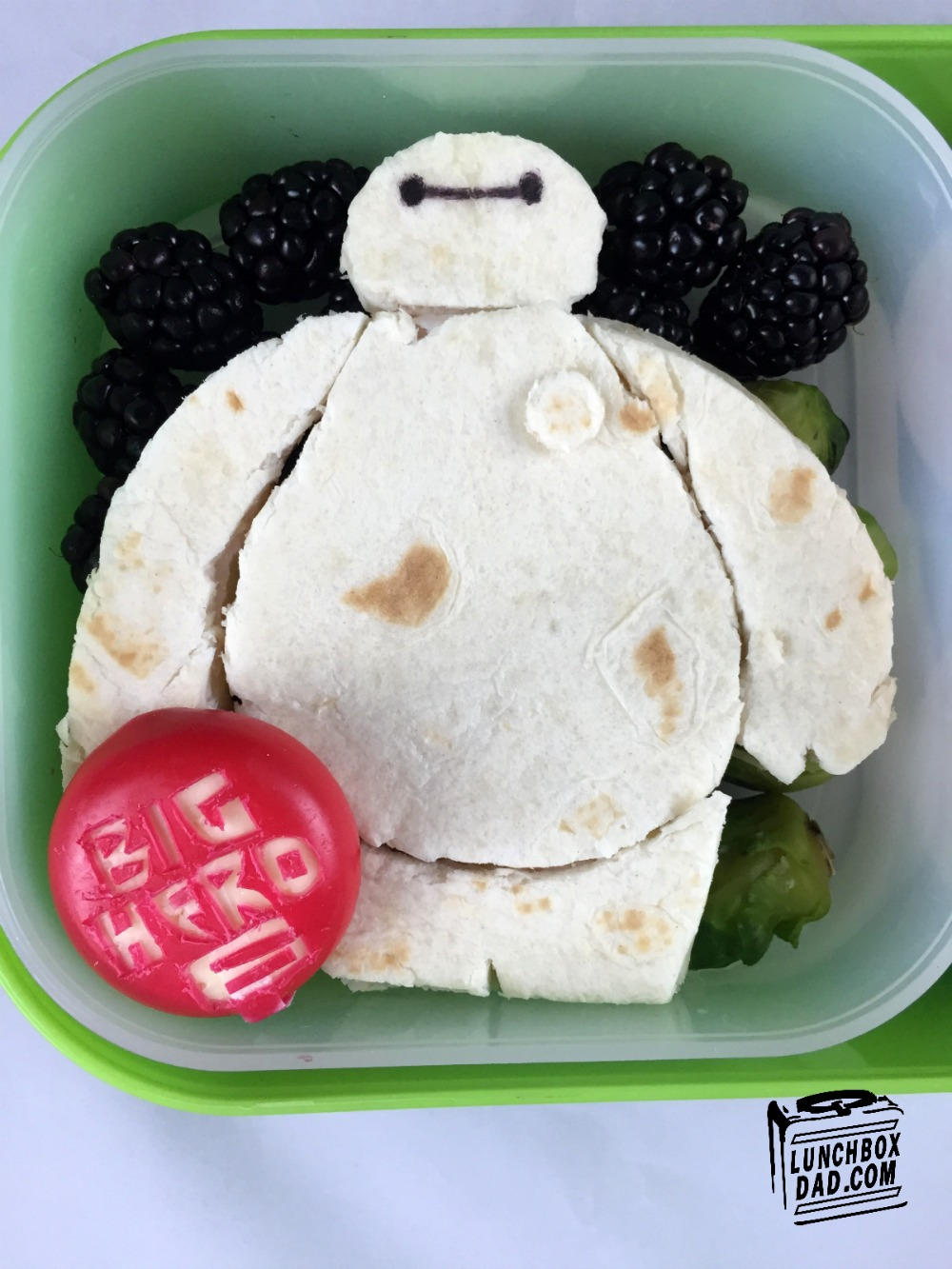 Baymax Big Hero 6 Lunch