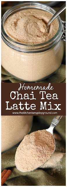 Homemade Chai Tea Latte Mix pin image