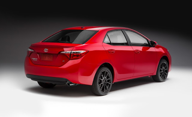 2016 Special Edition  Toyota Corolla  back view