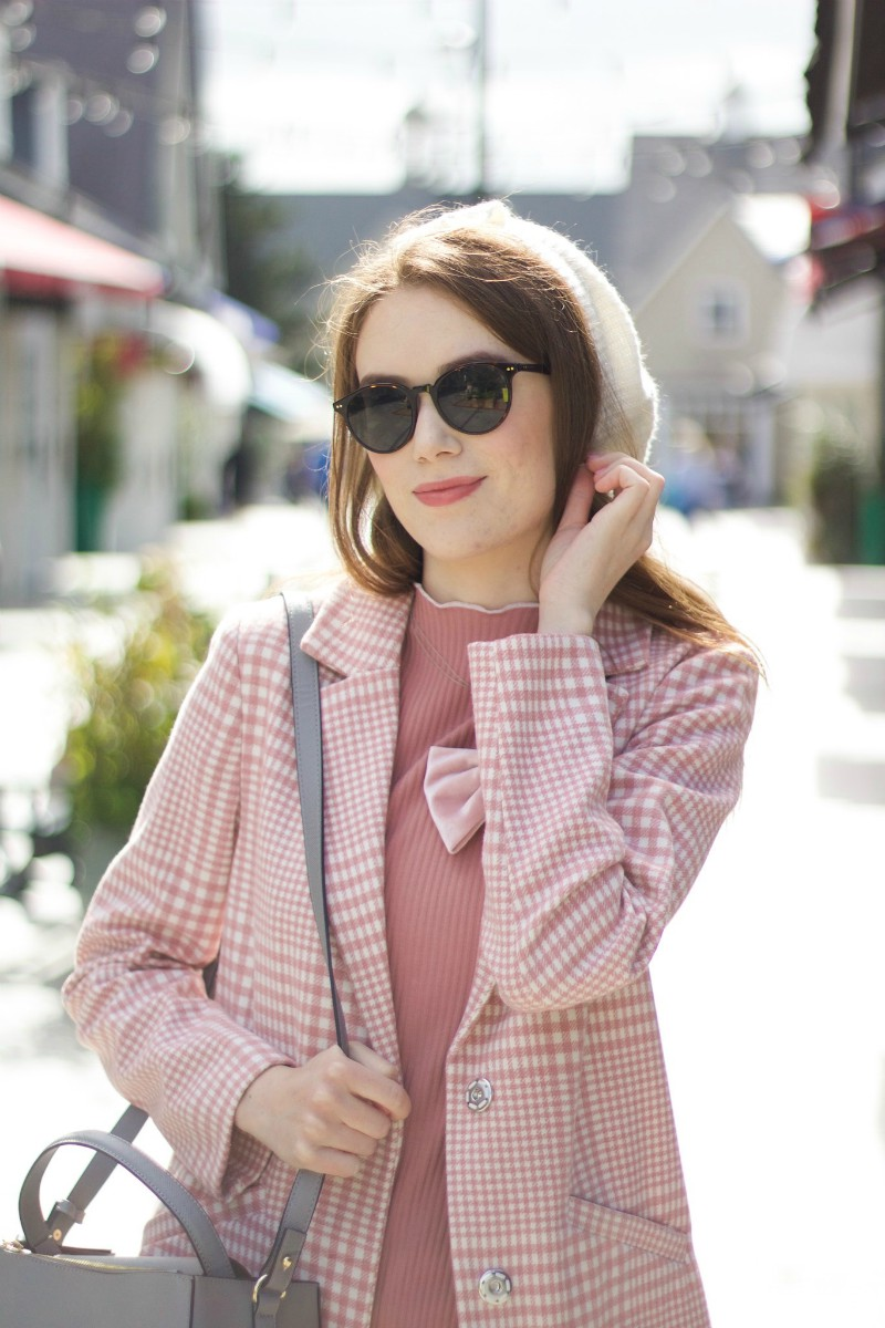Pink Parisian Outfit
