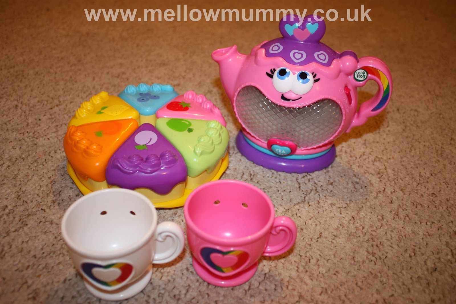 659c8efce795 Mellow Mummy: Leapfrog Musical Rainbow Tea Party Review : Taking ...