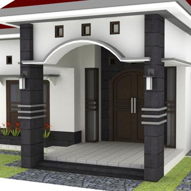 inspirasi cantik desain teras rumah minimalis