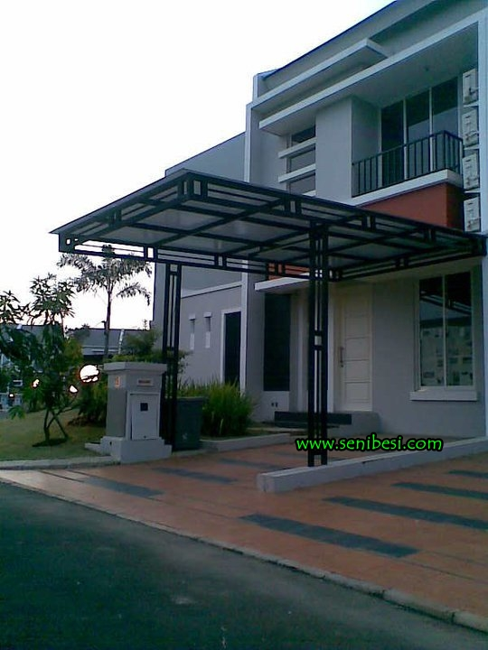 canopy baja ringan tanpa tiang carport,kanopi: bina karya foto/gambar ...