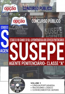 Apostila SusepeRS download 2017 Agente Penitenciário.