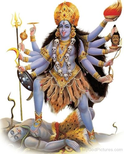 Hindu Goddess bhadrakali image