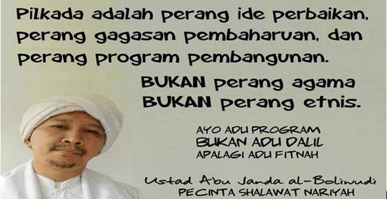 Ahmad Zainul Muttaqin: Agama Tumbal Politikus