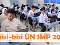 Kisi-kisi Ujian Nasional SMP / Mts 2018/2019 resmi BSNP Lengkap Semua Mata Pelajaran