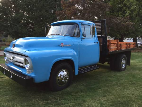 1956 ford f350 dually flatbed truck old truck. Black Bedroom Furniture Sets. Home Design Ideas