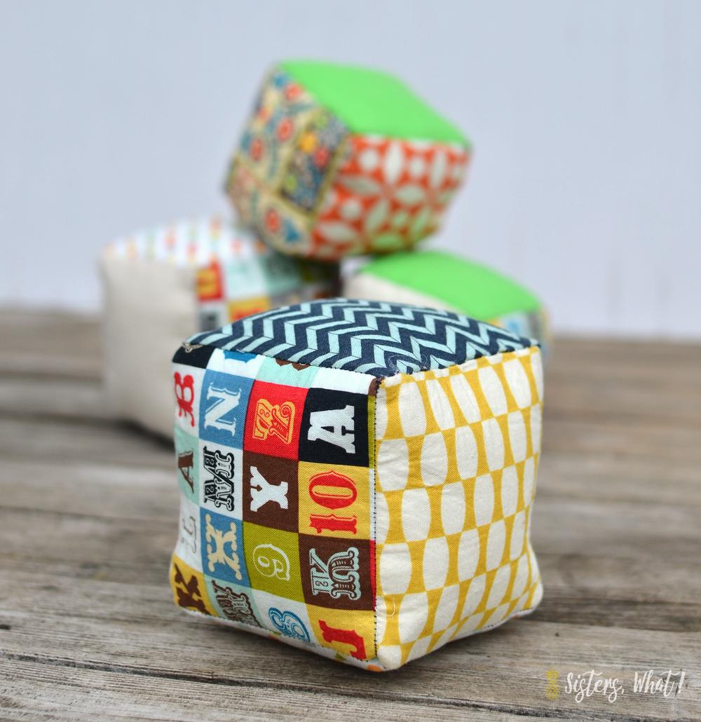 how to sew baby blocks
