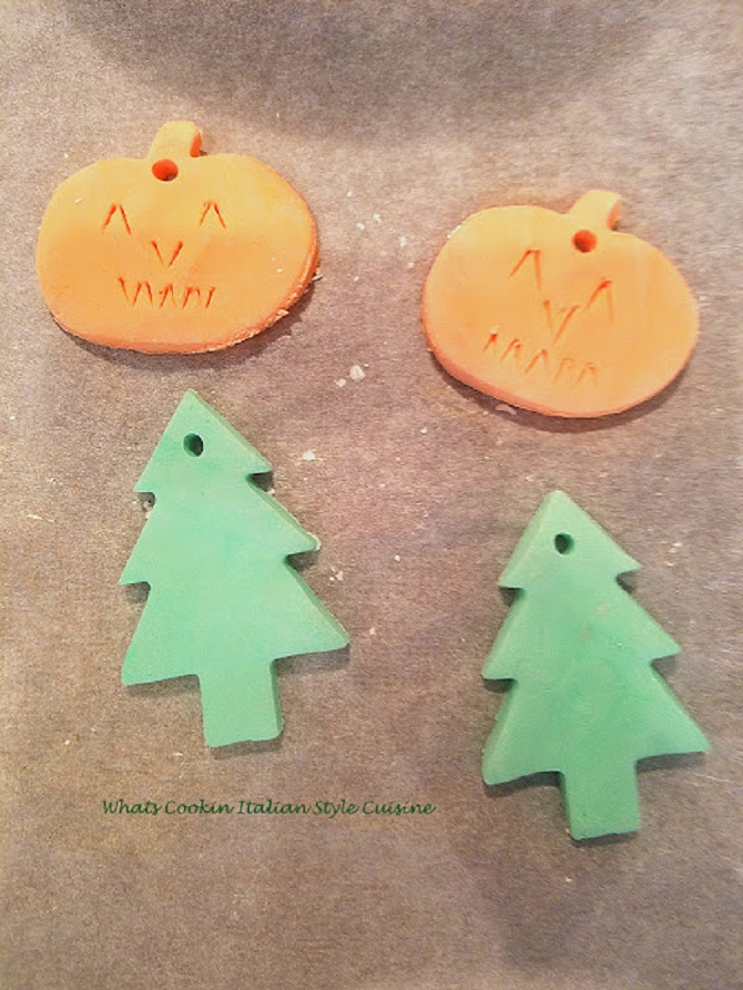 this is how to make mold able clay dough for ornaments and shaping for kids