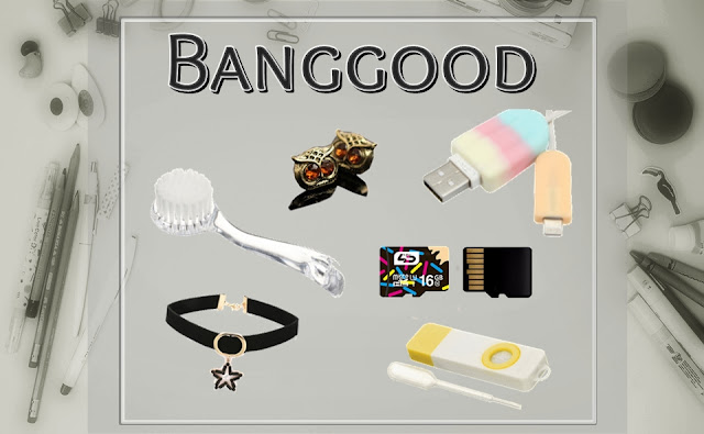 banggood shop, online, banggod sajt, iskustvo, onlajn, shopping, usb, chocker, sova, naušnice, earrings, funny usb sticks, smiješni usb, blog, sd card, gadgets, cool products, items, stuff, potrepštine, student life
