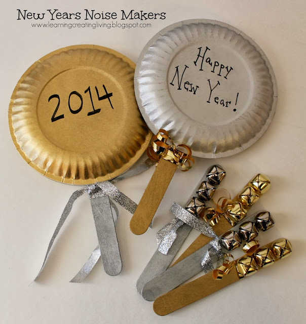 New Years Eve Noise Makers Craft