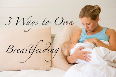 3 Ways to Own Breastfeeding {The Luvs Commercial}