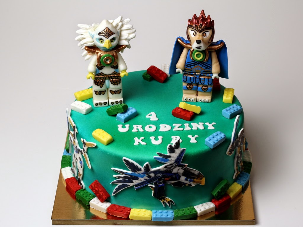 Dartford Cakes Lego Chima Birthday Cake Ideas