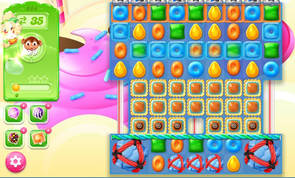 Candy Crush Jelly Saga level 684