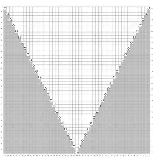 Sort ibenholt trekant