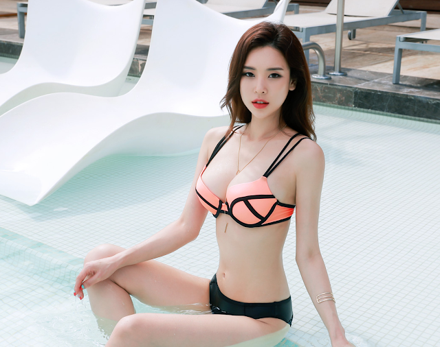 park da hyun Park Da Hyun – Beachwear Set 3