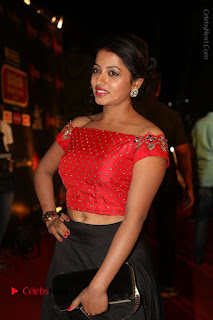 Actress Navya Stills Gemini TV Puraskaralu 2016 Event  0024.JPG