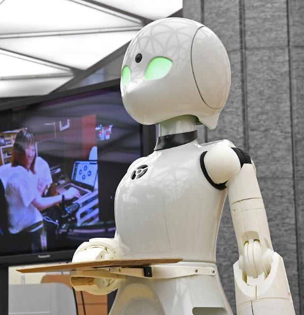 Sebuah Cafe Tokyo Akan Gunakan Robot Sebagai Pelayannya