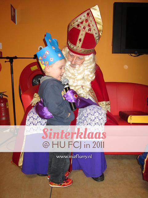 Verslag van het Sinterklaasfeest bij de HU FCJ in 2011.