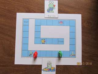 Monsters Multiplication Race