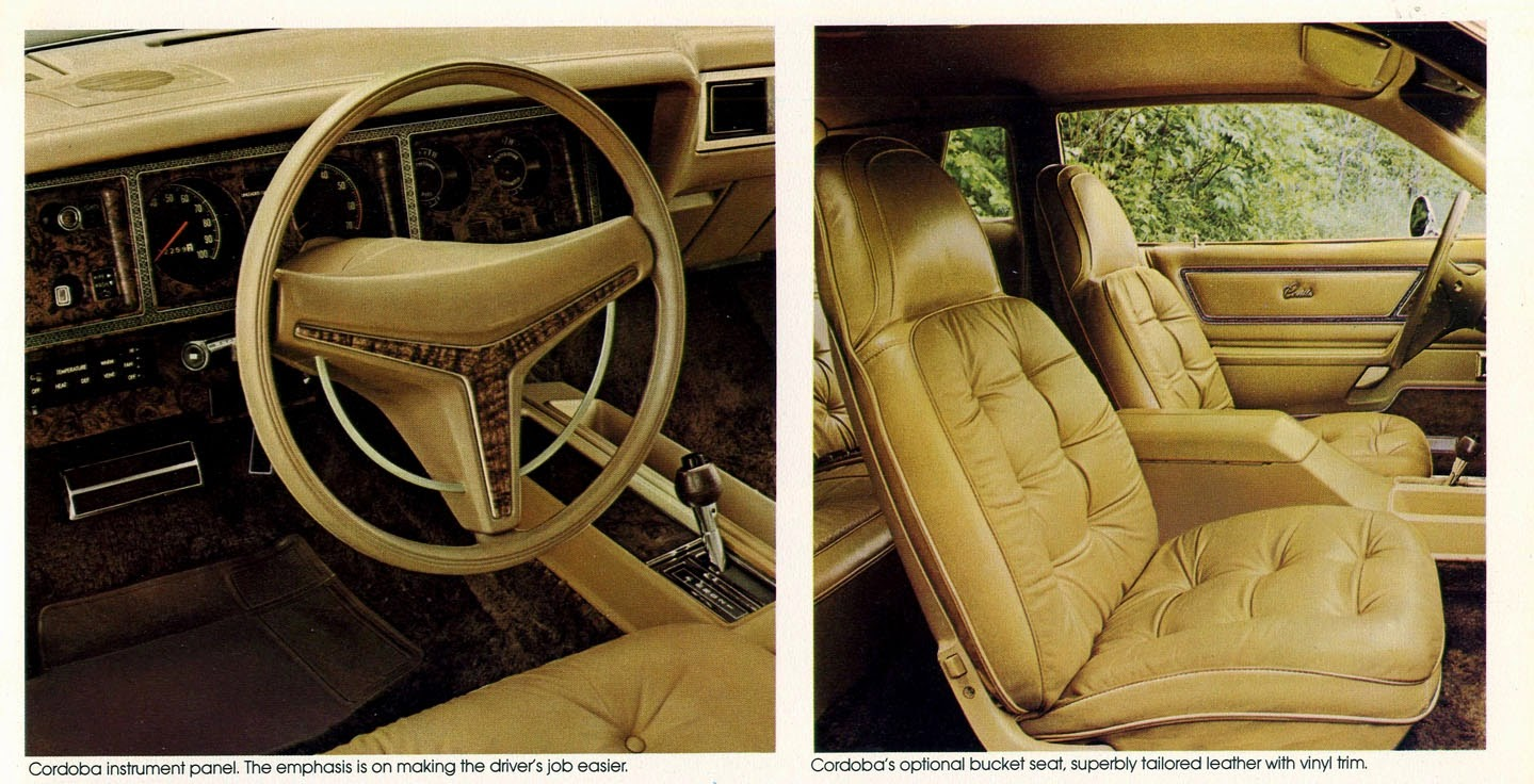 Old Cars Canada 1975 1978 Chrysler Cordoba