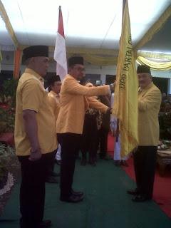 David Resmi Jabat Ketua DPD Golkar Empat Lawang